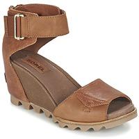 kengät Naiset Sandaalit ja avokkaat Sorel JOANIE SANDAL Brown