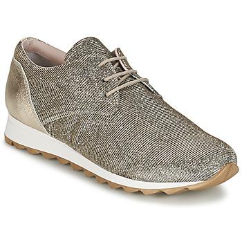 kengät Naiset Matalavartiset tennarit Tosca Blu DERZE Silver / Gold