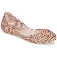 kengät Naiset Balleriinat Zaxy AMORA Pink / Metallinen