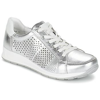 kengät Naiset Matalavartiset tennarit Ara CHEVOK Silver