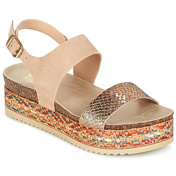 kengät Naiset Sandaalit ja avokkaat Bullboxer GROJETINE BEIGE
