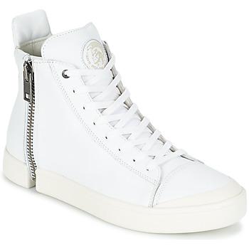 kengät Miehet Korkeavartiset tennarit Diesel S-NENTISH White