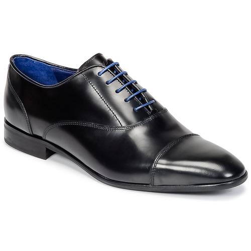 kengät Miehet Herrainkengät Azzaro RAEL Black