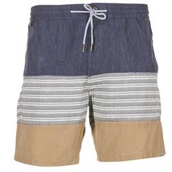 vaatteet Miehet Shortsit / Bermuda-shortsit Volcom THREEZY JAMMER Laivastonsininen / BEIGE / Grey