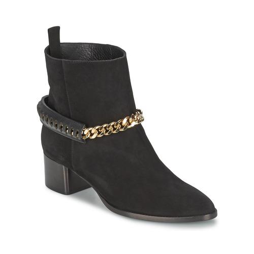 kengät Naiset Nilkkurit Roberto Cavalli YPS542-PC519-05051 Black