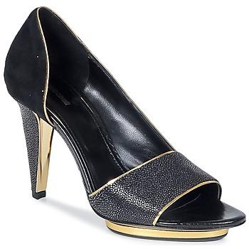 kengät Naiset Sandaalit ja avokkaat Roberto Cavalli YDS637-UF013-05051 Black