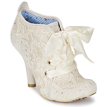 kengät Naiset Nilkkurit Irregular Choice ABIGAILS THIRD PARTY White / Creme