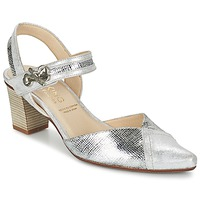 kengät Naiset Korkokengät Dorking DELTA Argenté