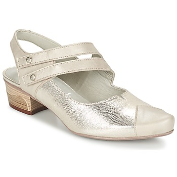 kengät Naiset Korkokengät Dorking MENET Argenté / Grey