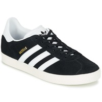 kengät Lapset Matalavartiset tennarit adidas Originals GAZELLE C Black