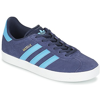 kengät Lapset Matalavartiset tennarit adidas Originals GAZELLE J Blue