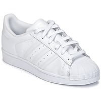 kengät Lapset Matalavartiset tennarit adidas Originals SUPERSTAR White