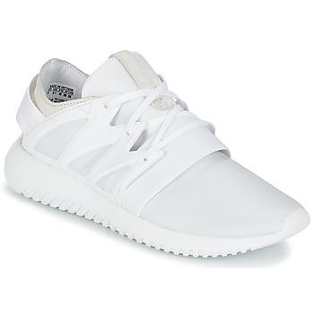 kengät Naiset Korkeavartiset tennarit adidas Originals TUBULAR VIRAL W White