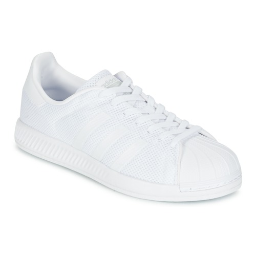 outlet store 0659d fc4a8 kengät Miehet Matalavartiset tennarit adidas Originals SUPERSTAR BOUNCE  White
