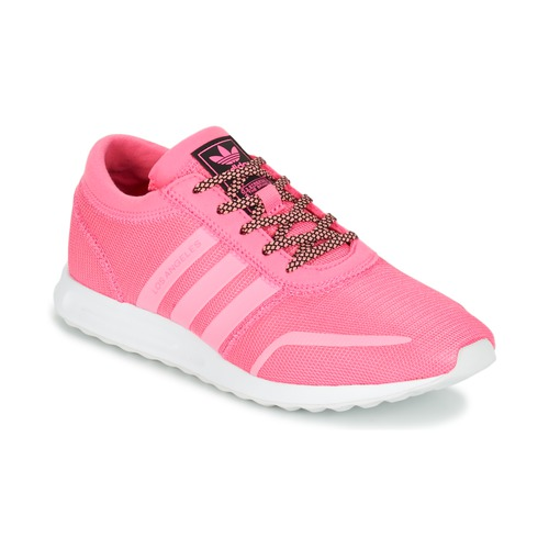 kengät Tytöt Matalavartiset tennarit adidas Originals LOS ANGELES J Pink