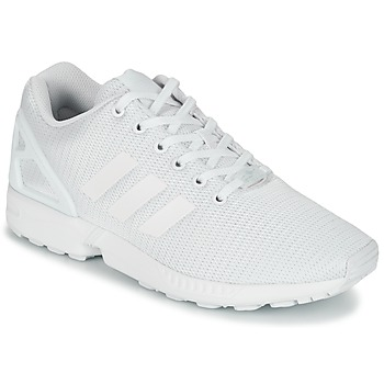 kengät Matalavartiset tennarit adidas Originals ZX FLUX White