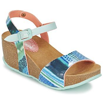 kengät Naiset Sandaalit ja avokkaat Desigual BIO 7 BLUE AQUARELLA Blue