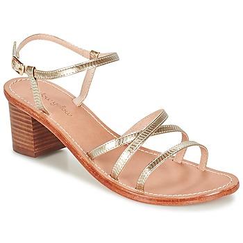 kengät Naiset Sandaalit ja avokkaat Mellow Yellow BALOUNA Gold