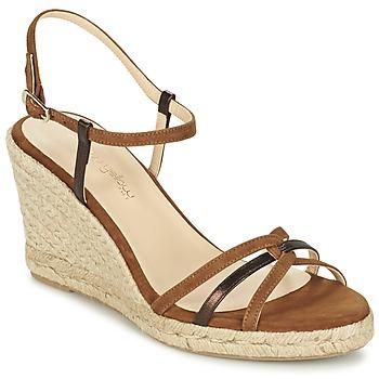 kengät Naiset Sandaalit ja avokkaat Mellow Yellow BERLINA Brown