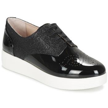 kengät Naiset Derby-kengät Mellow Yellow BIGLI Black