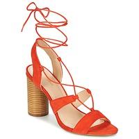 kengät Naiset Sandaalit ja avokkaat Mellow Yellow BRUNE Orange