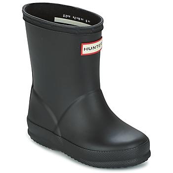 kengät Lapset Kumisaappaat Hunter KIDS FIRST CLASSIC Black