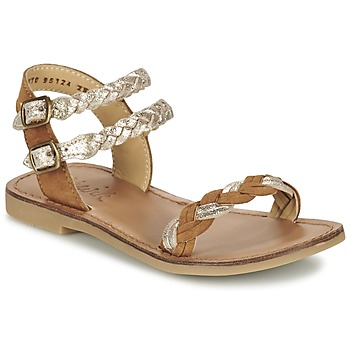 kengät Tytöt Sandaalit ja avokkaat Shwik LAZAR WOWO CAMEL / Gold