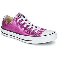 kengät Naiset Matalavartiset tennarit Converse CHUCK TAYLOR ALL STAR SEASONAL METALLICS OX Pink / Metallinen
