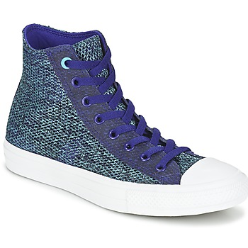 kengät Miehet Korkeavartiset tennarit Converse CHUCK TAYLOR ALL STAR II OPEN KNIT HI Blue