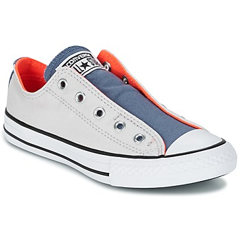 kengät Lapset Matalavartiset tennarit Converse CHUCK TAYLOR ALL STAR SLIP SUMMER FUNDAMENTALS SLIP Grey / Blue / Orange