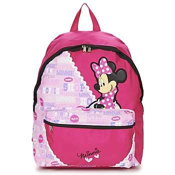 laukut Tytöt Reput Disney MINNIE SCRATCH DOTS SAC A DOS BORNE Red / Pink