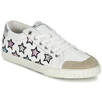 kengät Naiset Matalavartiset tennarit Ash MAJESTIC White