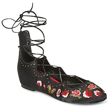 kengät Naiset Balleriinat Ash INDRA Black
