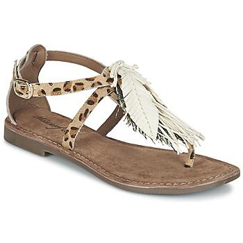 kengät Naiset Sandaalit ja avokkaat Metamorf'Ose ZABOUCHE Brown / White