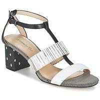 kengät Naiset Sandaalit ja avokkaat Metamorf'Ose ZAFNOLO Black / White