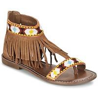 kengät Naiset Sandaalit ja avokkaat Metamorf'Ose ZACCIN Brown