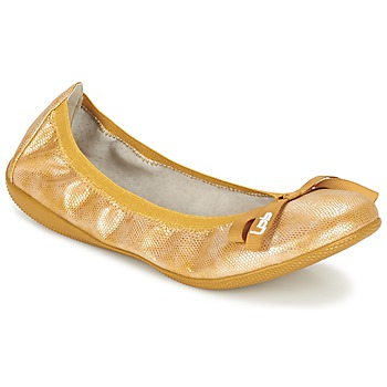 kengät Naiset Balleriinat Les P'tites Bombes ELLA Yellow