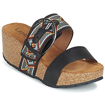 kengät Naiset Sandaalit Les P'tites Bombes GLYCINE Black