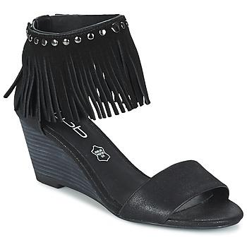 kengät Naiset Sandaalit ja avokkaat Les Petites Bombes NADIA Musta