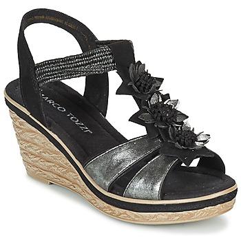 kengät Naiset Sandaalit ja avokkaat Marco Tozzi CHAVELA Black
