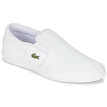 kengät Miehet Tennarit Lacoste GAZON BL 1 White