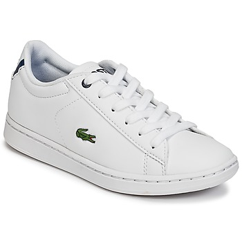 kengät Lapset Matalavartiset tennarit Lacoste CARNABY EVO BL 1 White