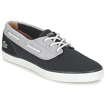 kengät Miehet Purjehduskengät Lacoste JOUER DECK 117 1 Black