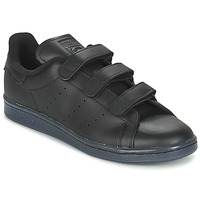 kengät Miehet Matalavartiset tennarit adidas Originals STAN SMITH CF Black