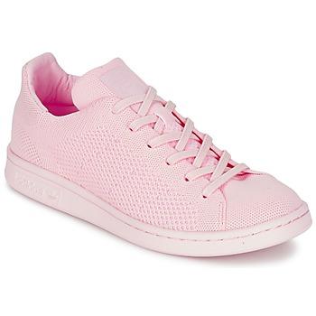 kengät Naiset Matalavartiset tennarit adidas Originals STAN SMITH PK Pink