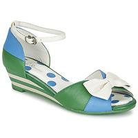 kengät Naiset Sandaalit ja avokkaat Lola Ramona LENNIE Blue / Green