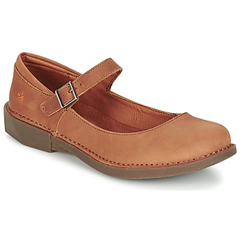 kengät Naiset Balleriinat Art BERGEN Brown