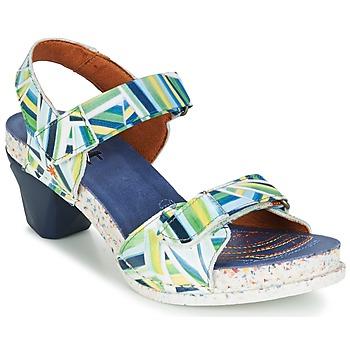 kengät Naiset Sandaalit ja avokkaat Art I ENJOY Blue / Green