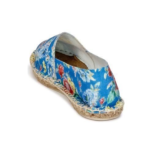 Art Of Soule Print Blue - Ilmainen Toimitus- Kengät Espadrillot Naiset 21