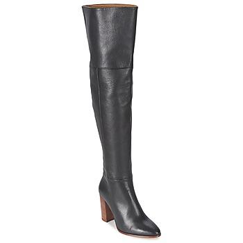 kengät Naiset Ylipolvensaappaat Fericelli NIRI Black